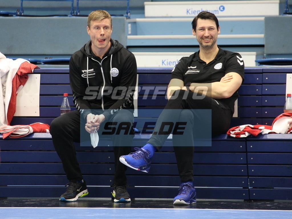 VFL Gummersbach - VFL Lübeck Schwartau | Gudjon Valur Sigurdsson (links) und Anel Mahmutefendic - © by Sportfoto-Sale.de