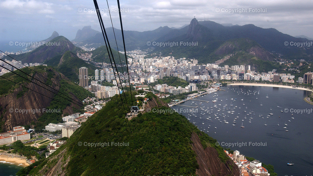 SEILBAHN_ZUCKERHUT_RIO DE JANEIRO   SEILBAHN,ZUCKERHUT,RIO DE JANEIRO,FOTO:FOTO LUI