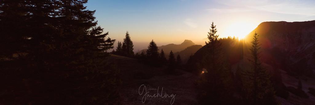 Sonnenaufgang in den Bergen | Goldenes Licht über dem Wilden Kaiser.