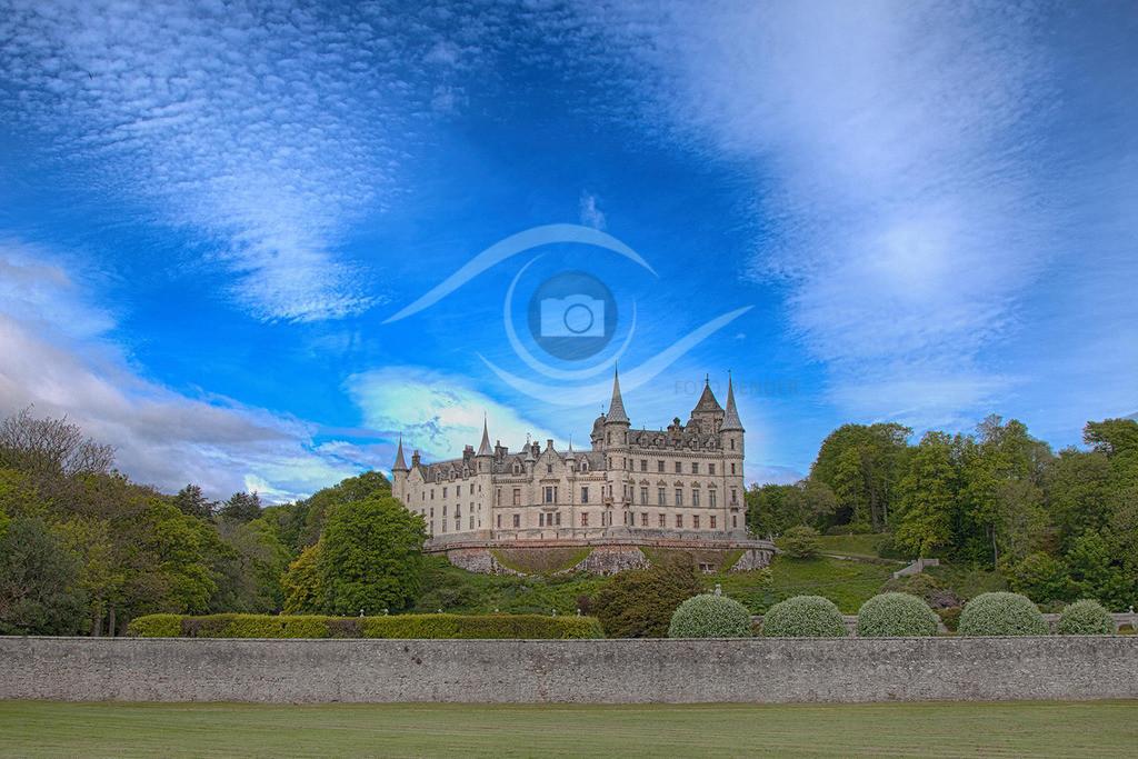 Schottland_ Dunrobin Castle