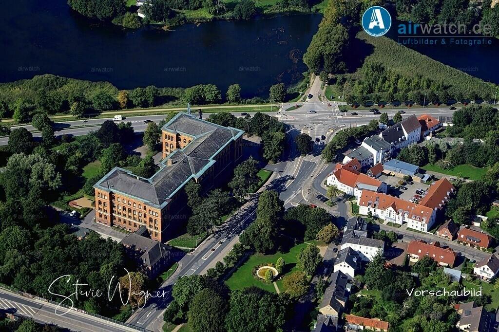 Luftbild Schleswig, Staatsanwaltschaft | Luftbild Schleswig, Staatsanwaltschaft • max. 6240 x 4160 pix