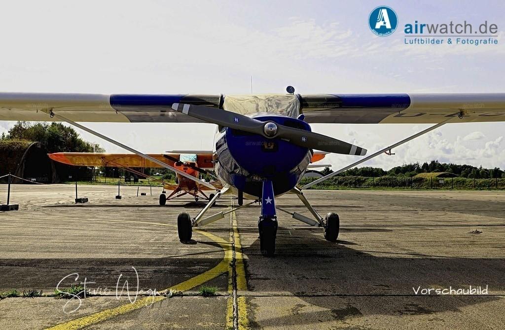 Flughafen Husum, Elster-B, Piper L-18 | Flughafen Husum, Elster-B • max. 6240 x 4160 pix