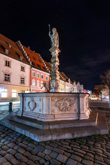 Brunnen Stadtplatz Straubing