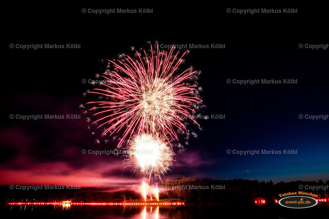 Karlsfelder Siedlerfest 2018 - Feuerwerk-11