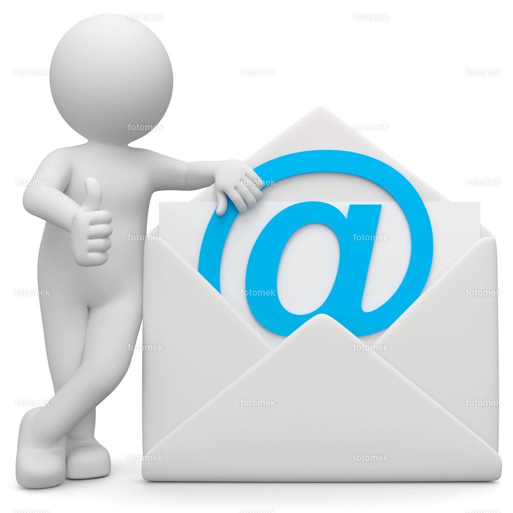 3d Männchen Emailkontakt