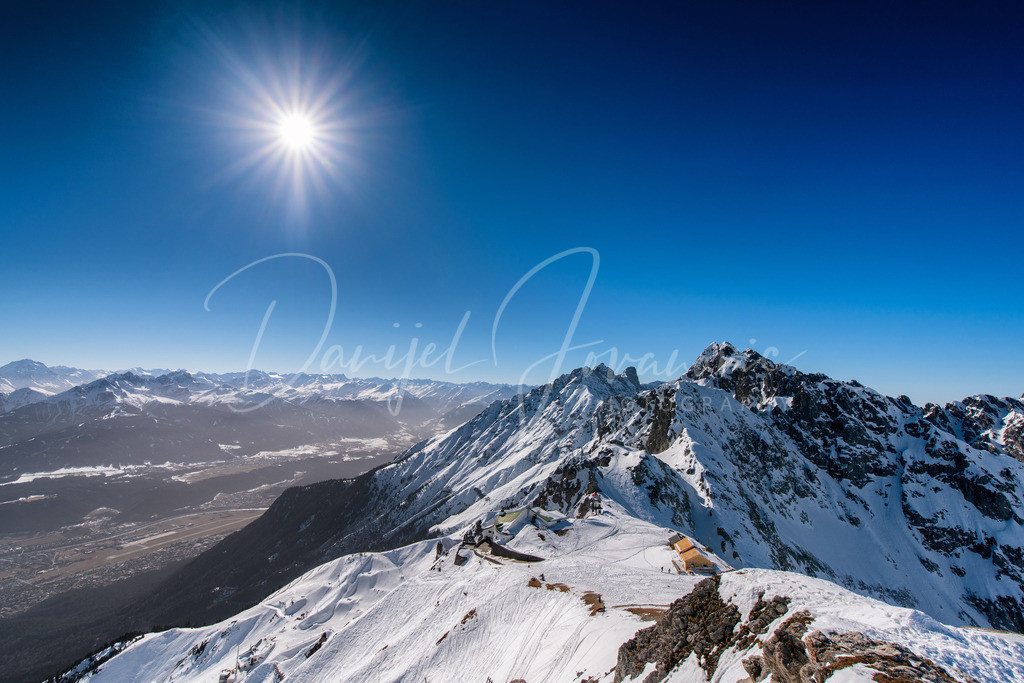 Nordkette   Blick vom Hafelekar nach Westen