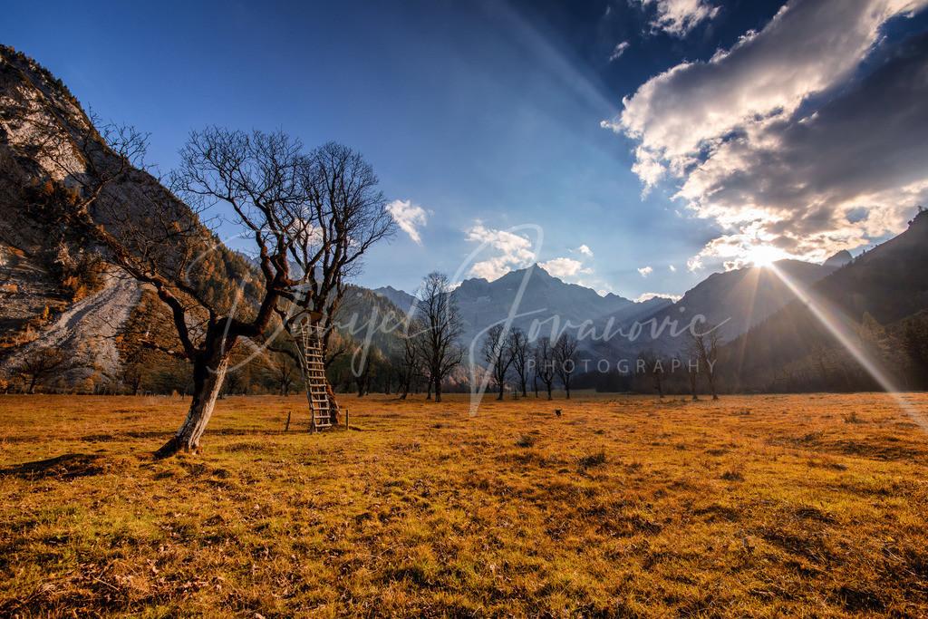 Großer Ahonrboden | Sonnenuntergang am Großen Ahornboden
