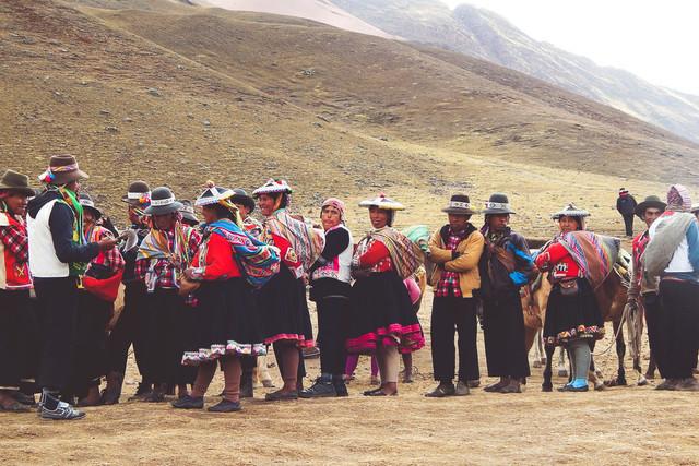 Andean People | Menschen indigener Abstammung in den Anden Perus
