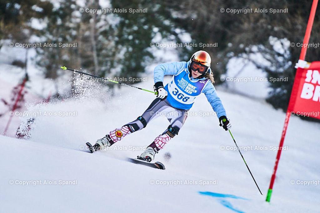 ALS5491_WWMG_GS-II_C | (C) FotoLois.com, Alois Spandl, WinterWorldMastersGames 2020 Innsbruck, Giant Slalom-II Gruppe C Damen, Patscherkofel Olympiaabfahrt, Mi 15. Jänner 2020.