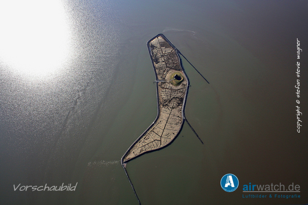 Luftbild Hallig Habel - Die kleinste nordfriesische Hallig im Wattenmeer | Nordsee, Hallig Habel, Luftbild, Luftaufnahme, aerophoto, Luftbildfotografie, Luftbilder • max. 4272 x 2848 pix.
