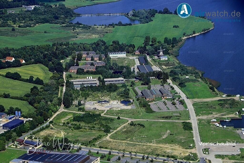 Luftbild Schleswig, Auf der Freiheit, Kaserne Auf der Freiheit   Schleswig, Auf der Freiheit, Kaserne Auf der Freiheit • max. 6240 x 4160 pix