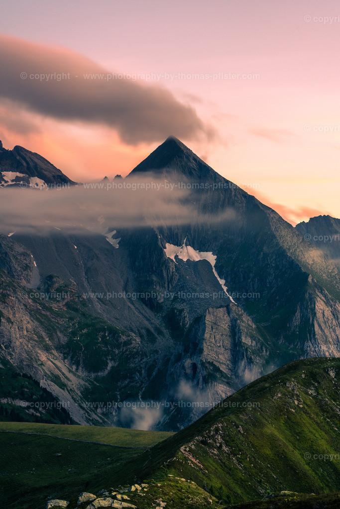 Tettensjoch Sonnenuntergang am Gipfel-2