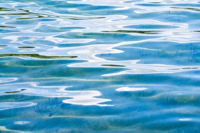Wasser 09 | Wellen Weissensee, Kärnten, Österreich