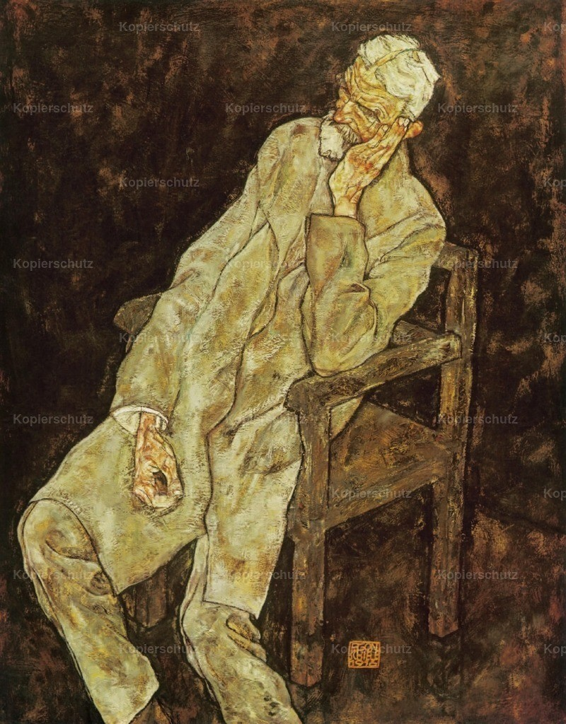 Schiele_ Egon (1890-1918) - Portrait of Johann Harms 1916