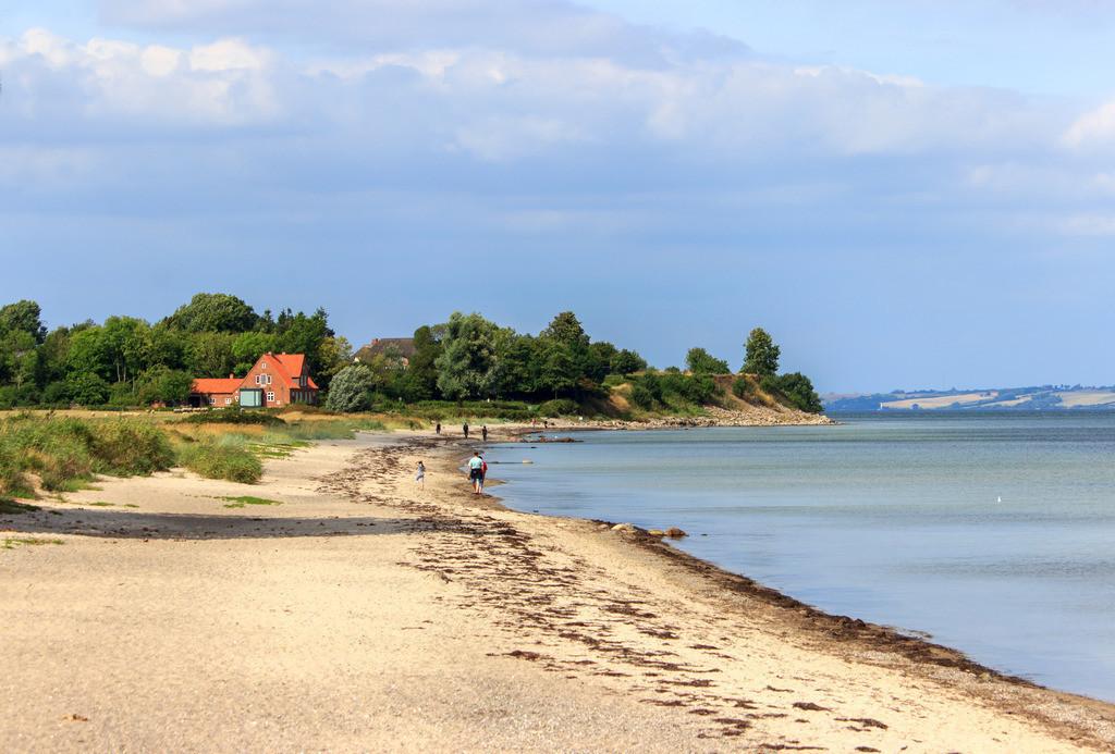 Strand in Norgaardholz   Sandstrand in Norgaardholz