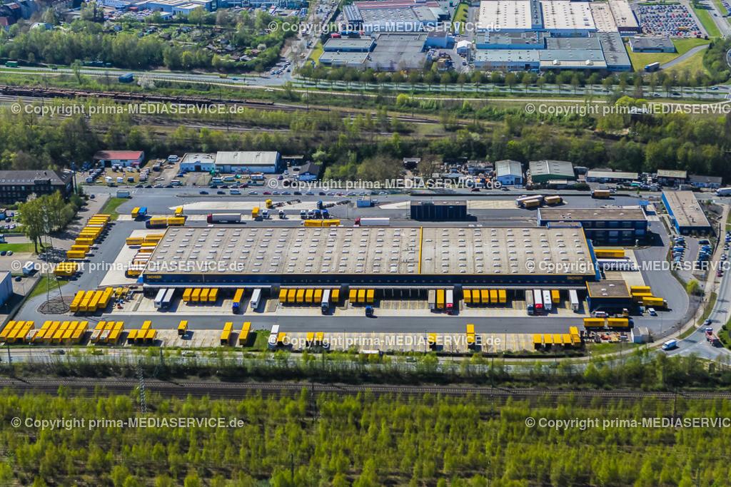IMGL1838 | Luftbild DACHSER GmbH & Co. KG Frachtspeditionsdienst 21.04.2015 Niederlassung in Dortmund (Nordrhein-Westfalen, Deutschland).  Foto: Michael Printz / PHOTOZEPPELIN.COM