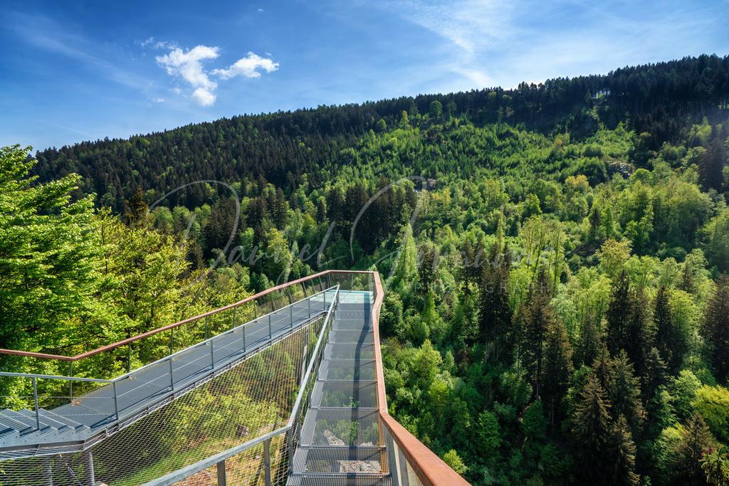 Drachenfelsen | Die Aussichtsplattform am Drachenfelsen am Bergisel