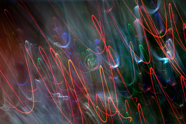 LIchtmalerei    DEU, Deutschland, Filderstadt, 22.12.2011, Lichtmalerei © 2018 Christoph Hermann, Bild-Kunst Urheber 707707