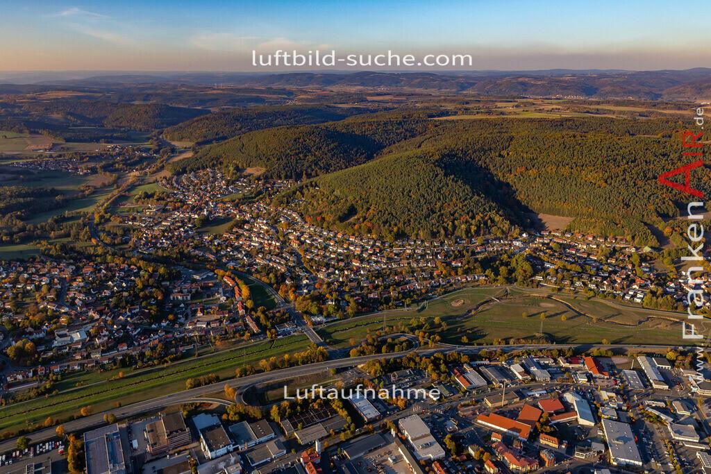 ziegelhuetten-kulmbach-18-394   aktuelles Luftbild von Ziegelhuetten Kulmbach - Luftaufnahme wurde 2018 von https://frankenair.de mittels Flugzeug (keine Drohne) erstellt.