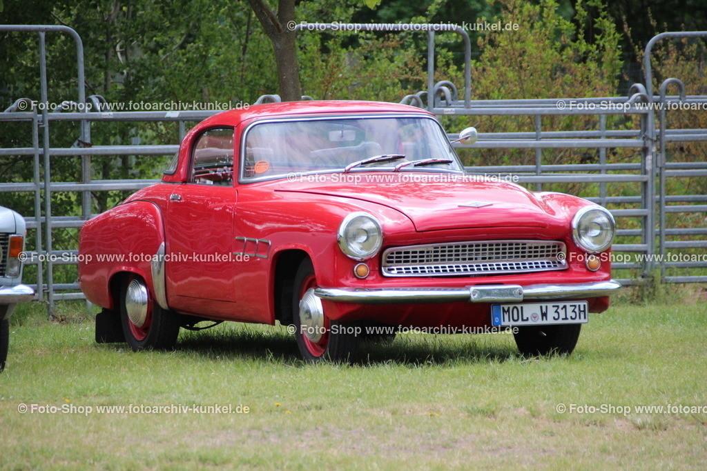 Wartburg 313-1 Sport Roadster mit Hardtop, 2 Türen, 1957-1963 | Wartburg 313-1 Sport Roadster, Hardtop-Cabrio 2 Türen 2 Sitze, Farbe: Rot, Bauzeit 1957-1963, VEB AWE, IFA, DDR