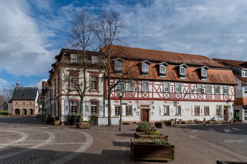 DSC_0164 | ble,verlassene Lorscher Innenstadt, Königshalle, Gasthaus Weißes Kreuz, ,, Bild: Thomas Neu