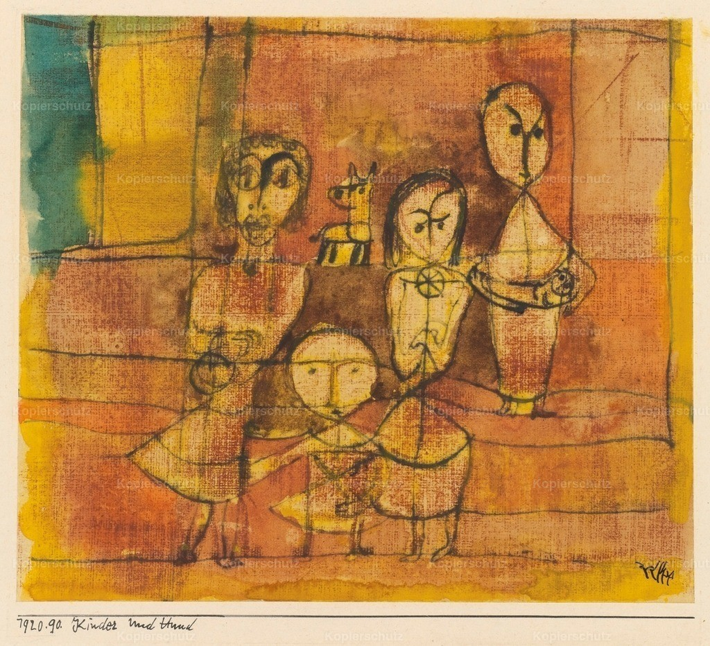 Klee_ Paul (1879-1940) - Children with Dog 1920
