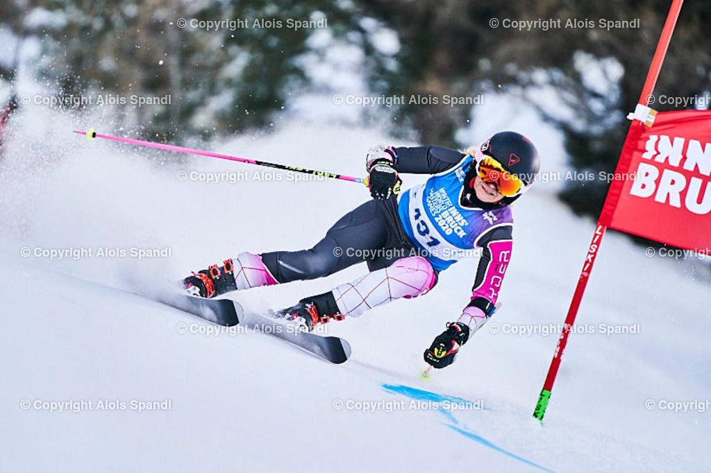 ALS5829_WWMG_GS-II_C | (C) FotoLois.com, Alois Spandl, WinterWorldMastersGames 2020 Innsbruck, Giant Slalom-II Gruppe C Damen, Patscherkofel Olympiaabfahrt, Mi 15. Jänner 2020.