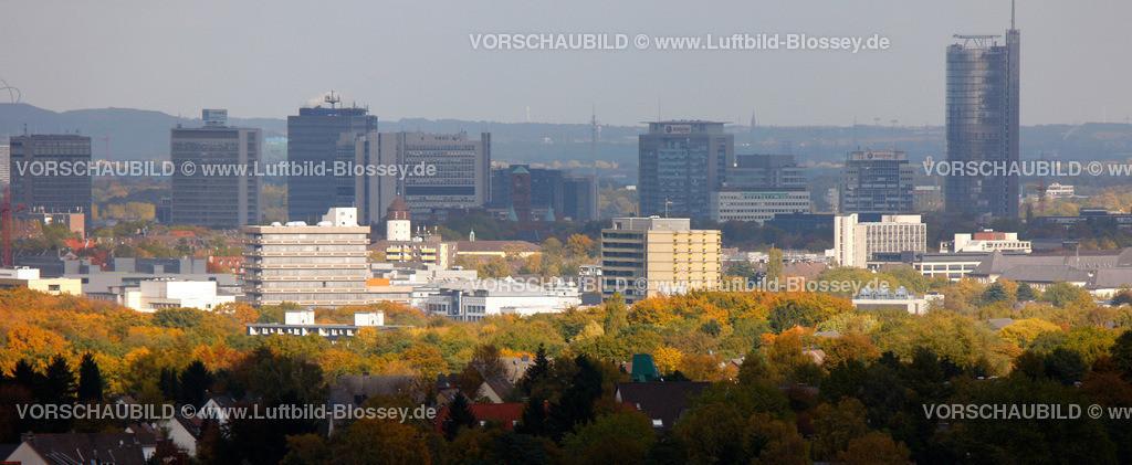ES10103965 | Skyline von Essen, RWE, Rathaus,  Muelheim an der Ruhr, Ruhrgebiet, North Rhine-Westphalia, Germany, Europa