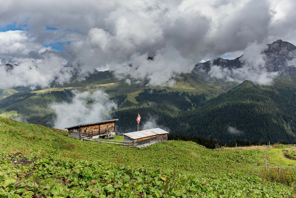 Berghütte in Arosa