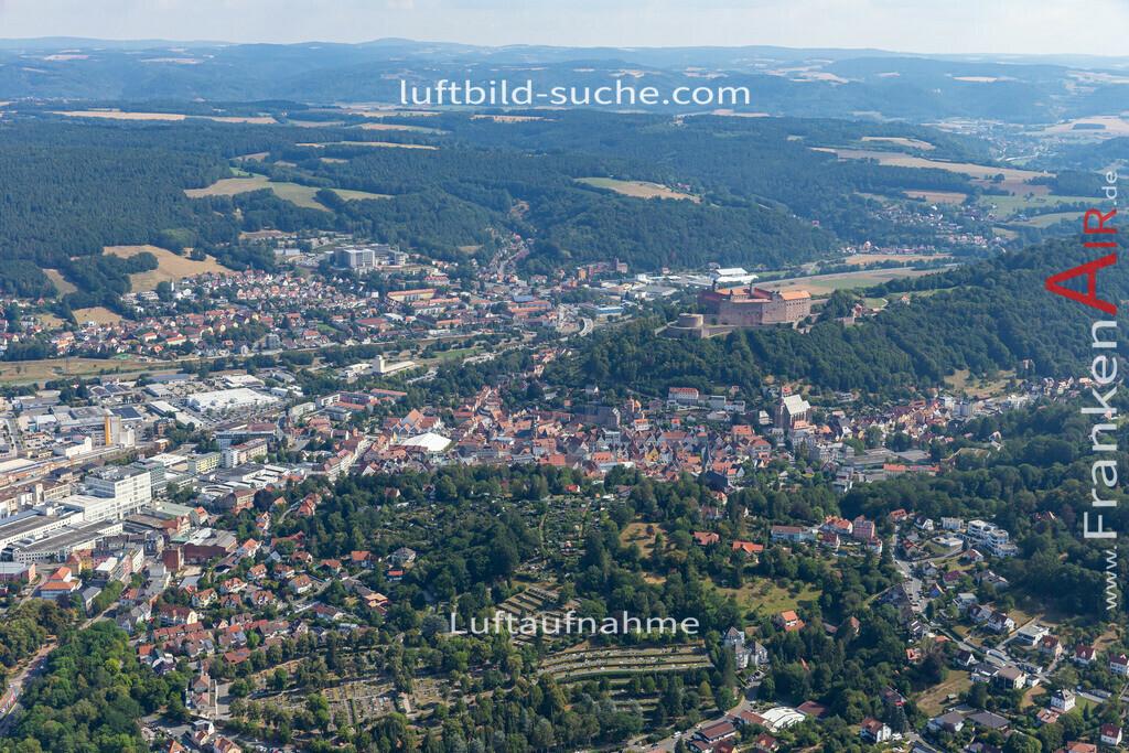 altstadt-kulmbach-19-670 | aktuelles Luftbild von Altstadt  Kulmbach - Luftaufnahme wurde 2019 von https://frankenair.de mittels Flugzeug (keine Drohne) erstellt.
