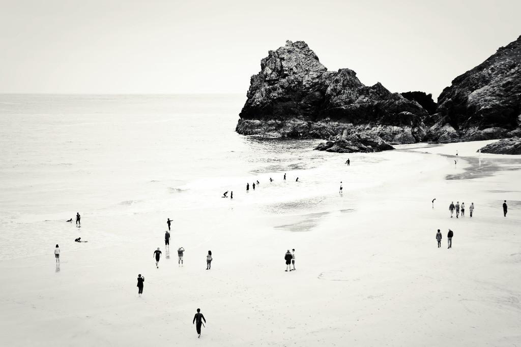 Cornwall Beach Life | Kynance Cove beach, Cornwall, UK.