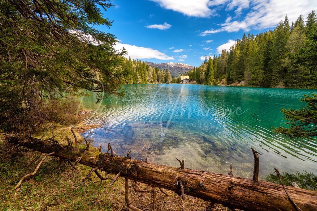Obernberger See | Frühling am Obernberger See mit sehr viel Schmelzwasser