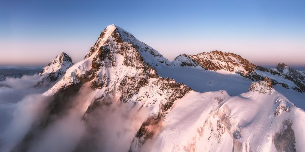 Eiger, Mönch & Jungfraujoch