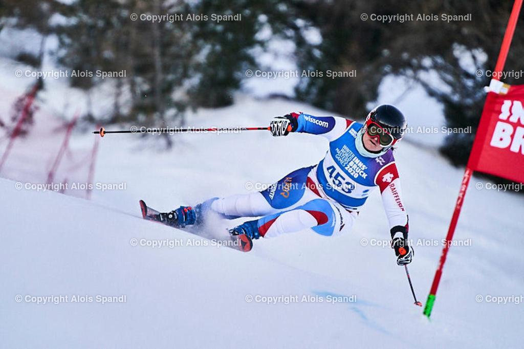 ALS5947_WWMG_GS-II_C | (C) FotoLois.com, Alois Spandl, WinterWorldMastersGames 2020 Innsbruck, Giant Slalom-II Gruppe C Damen, Patscherkofel Olympiaabfahrt, Mi 15. Jänner 2020.