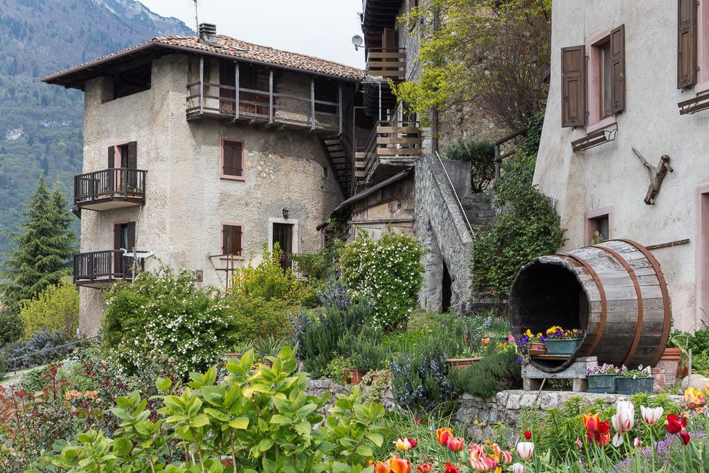Szene italienisches Dorf