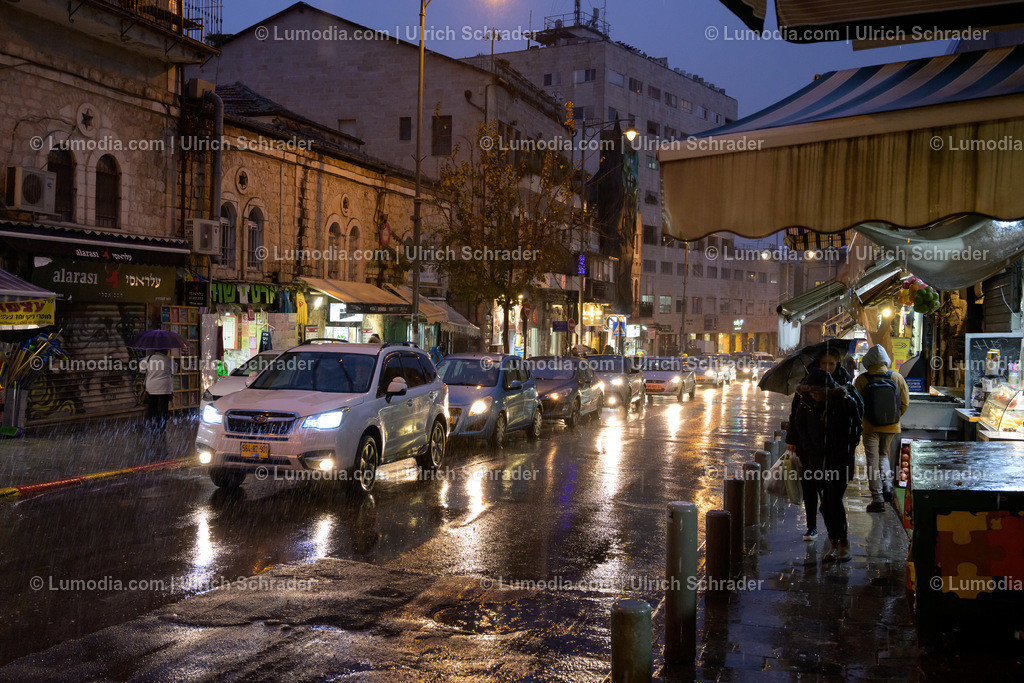 10972-10065 - Jerusalem _ Regentag im Winter