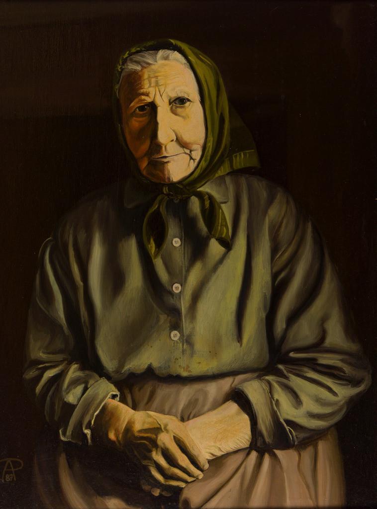 Die Großmutter | Originalformat: 72x55cm  -  Produktionsjahr: 1987