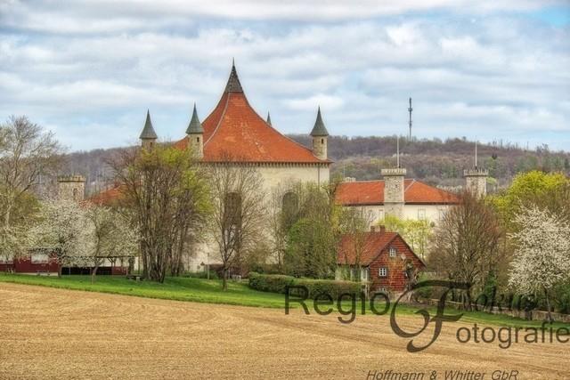 Schloss Derneburg bei Holle | Durch die Säkularisation wurde 1803 das ehemalige Kloster aufgelöst und zu einer preußischen Staatsdomäne gemacht. 1846-48 wurde durch Georg Herbert Graf zu Münster das Klostergebäude zu einem Schloss umgebaut.