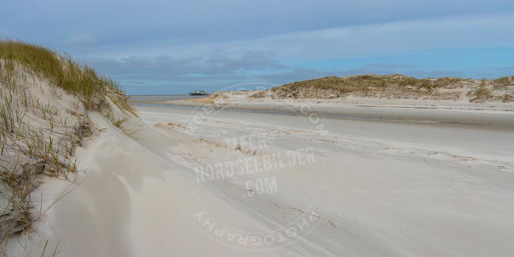 _MGB2644-Pano | Blick durch die Dünen auf den Strand