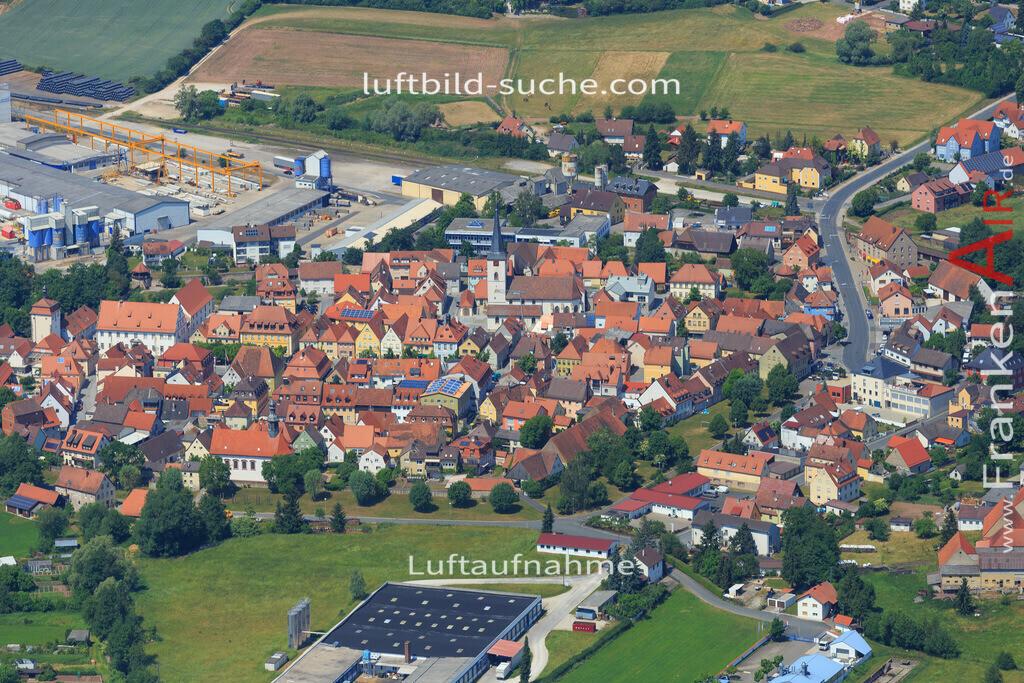 schluesselfeld-2015-1621 | Luftbild von  Schluesselfeld - Luftaufnahme wurde 2015 von https://frankenair.de mittels Flugzeug (keine Drohne) erstellt - die Geschenkidee