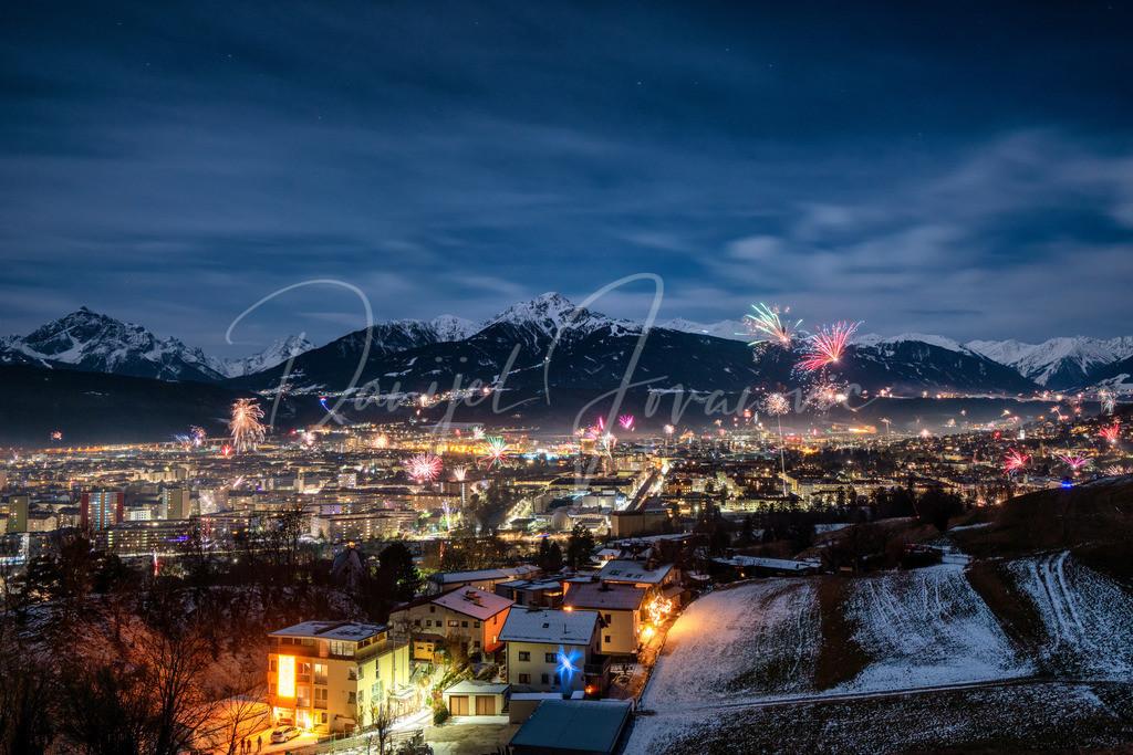Silvester   Silvester 2020 in Innsbruck