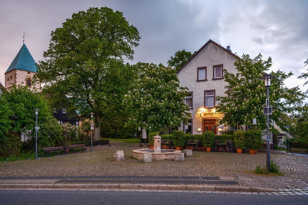 Dorfplatz in Kirchdornberg | Dorfplatz in Kirchdornberg (Bielefeld)