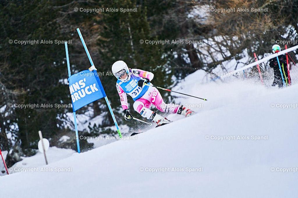 ALS5538_WWMG_GS-II_C | (C) FotoLois.com, Alois Spandl, WinterWorldMastersGames 2020 Innsbruck, Giant Slalom-II Gruppe C Damen, Patscherkofel Olympiaabfahrt, Mi 15. Jänner 2020.