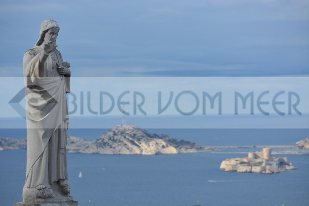 Bilder vom Meer | Marseille Alexandre Dumas lässt grüssen