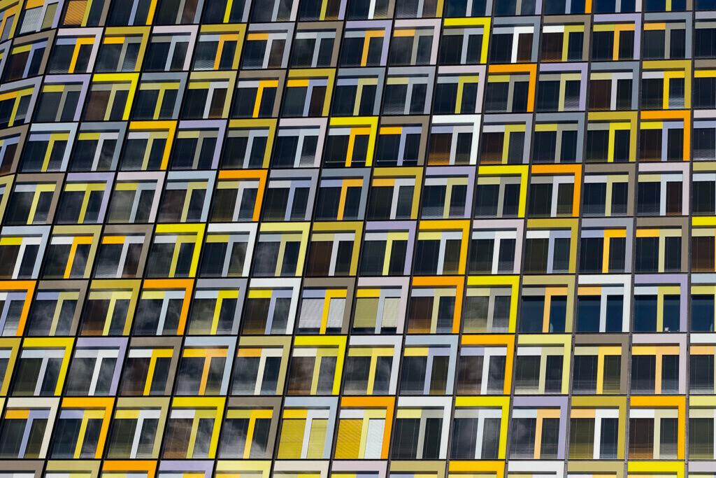 ADAC Gebäude München Fenster Detail