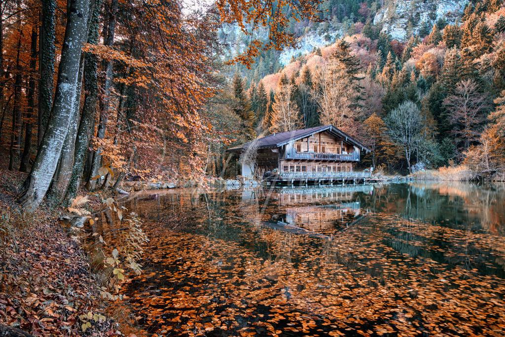Berglsteinersee | Herbst am Berglsteinersee im Tiroler Unterland