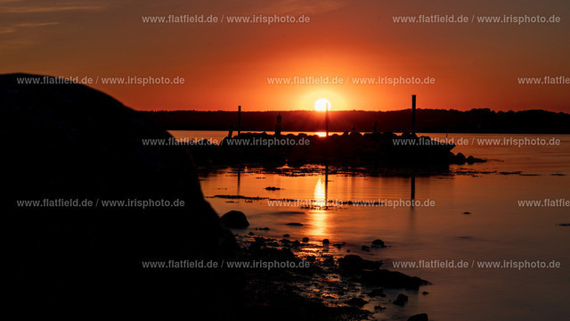 Sonnenuntergang auf Holnis C15   Sonnenuntergang auf Holnis an der Ostsee