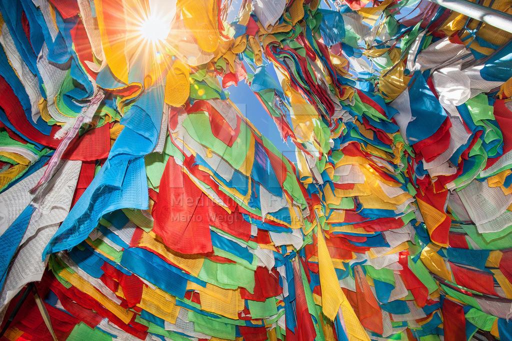 MW0411-9653 | Gebetsfahnen in Tibet -  Im Land des Dalai Lama