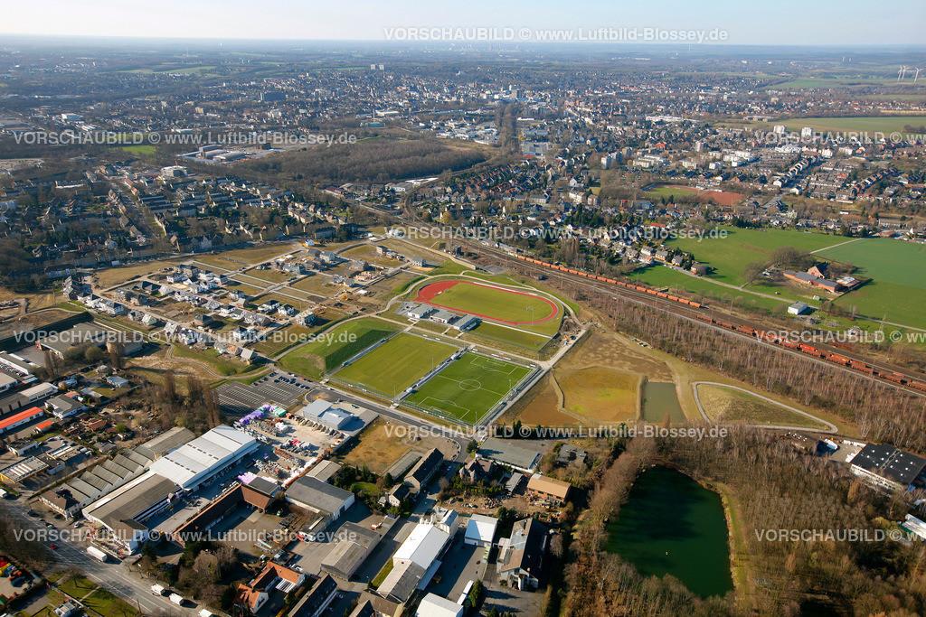 RE11032058 | Maybacher Heide, Baugebiet, Wohnsiedlung, Sportplaetze,  Recklinghausen, Ruhrgebiet, Nordrhein-Westfalen, Germany, Europa  Foto: Hans Blossey