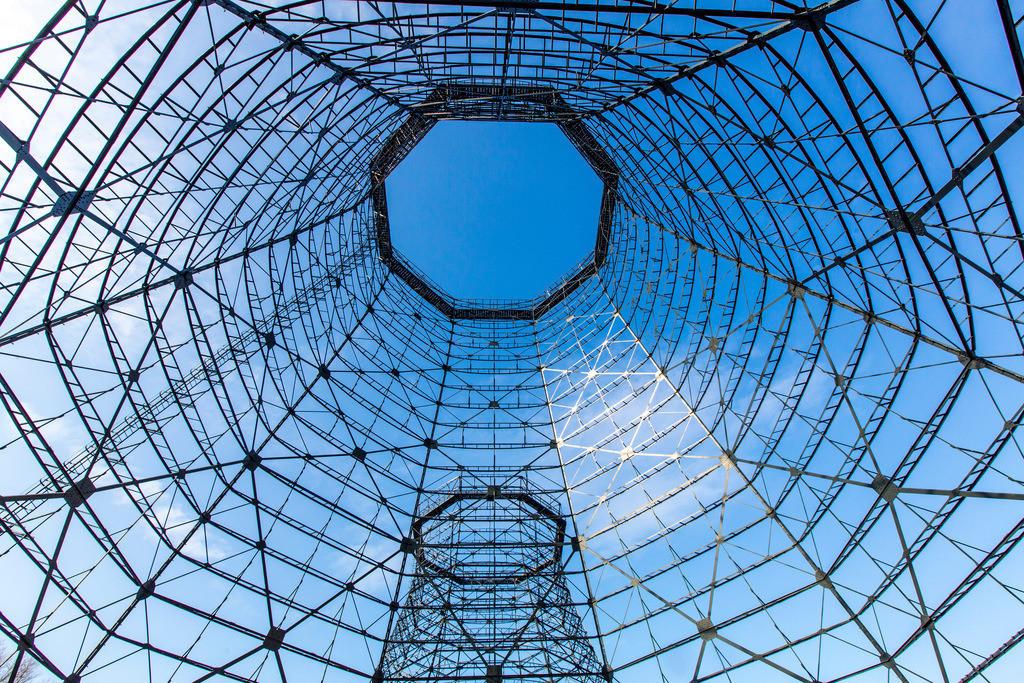 JT-160314-012 | Welterbe Zeche Zollverein, Kokerei Zollverein, Metallgerippe der Kühltürme,  Essen, Deutschland,